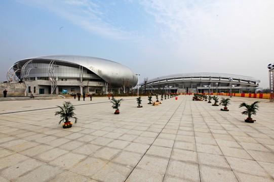 分宜县体育馆屋面网壳结构工程